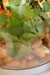 Άλειμμα και dip φασόλια με σκόρδο