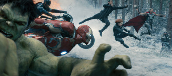 Avengers Age of Ultron first fight scene