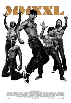 Magic Mike XXL 2015 greek poster