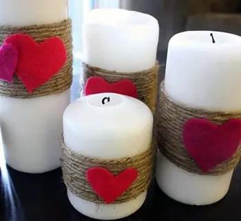 Κεριά με αγάπη