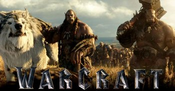 Warcraft 2016 orcs and dire wolf
