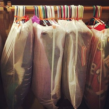 Εύκολη μετακόμιση ρούχων