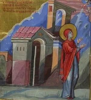 Αγία Άννα η προφήτις, μητέρα του προφήτη Σαμουήλ