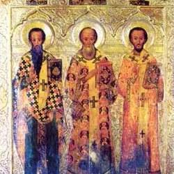 Οι Άγιοι Τρεις Ιεράρχες