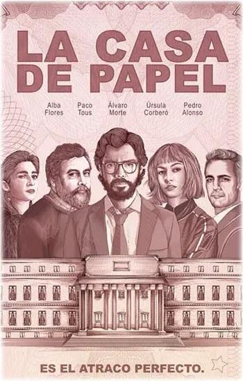 Η τέλεια ληστεία - La casa de papel - Money heist - 2017