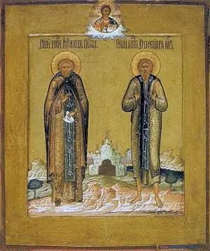 Άγιοι Συμεών (ο δια Χριστόν σαλός) και Ιωάννης