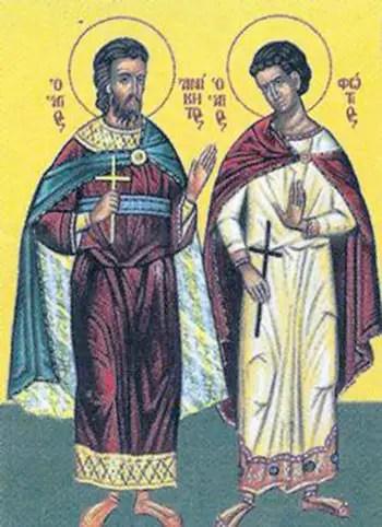 Άγιος Ανίκητος και Άγιος Φώτιος