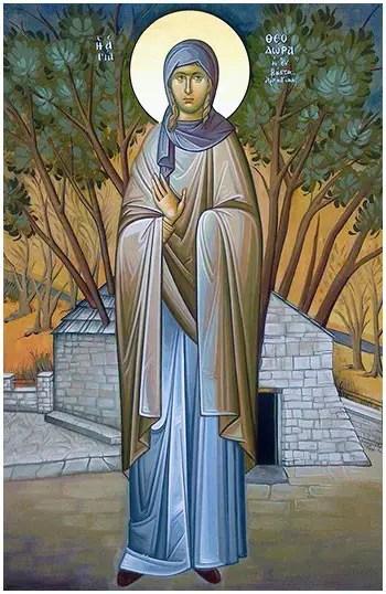 Αγία Θεοδώρα της Βάστα