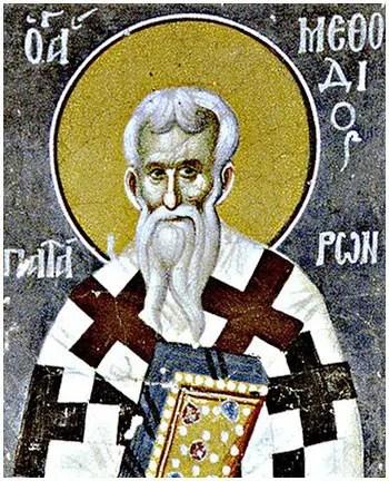 Άγιος Μεθόδιος ο επίσκοπος Πατάρων