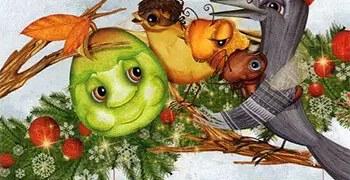 Το καρύδι και το χριστουγεννιάτικο κέικ