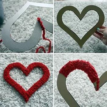 Μάλλινες καρδιές