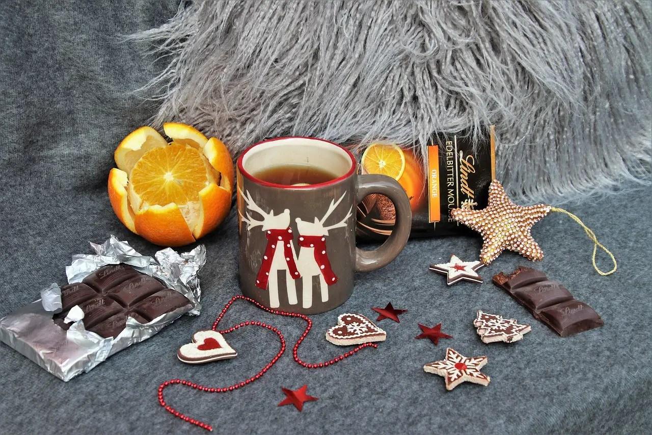 Ζεστή σοκολάτα με άρωμα πορτοκαλιού