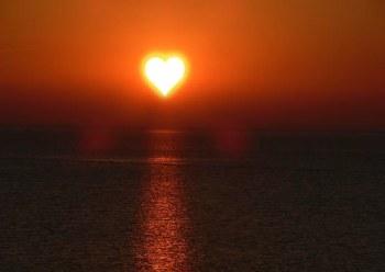 ήλιος αγάπη καρδιά