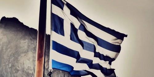 Greek, Flag