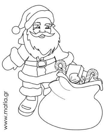 Άγιος Βασίλης με δώρα