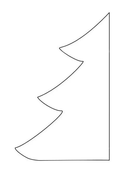 Χριστουγεννιάτικο δέντρο πατρόν