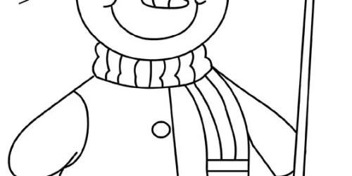 Γλυκούλης χιονάνθρωπος