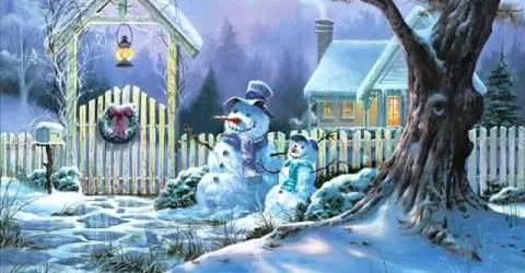 Χιόνια στο καμπαναριό