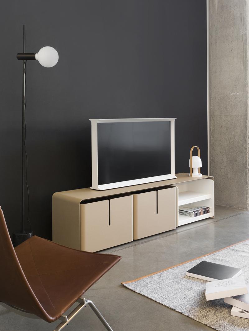 meuble tv barber 3 tiroirs