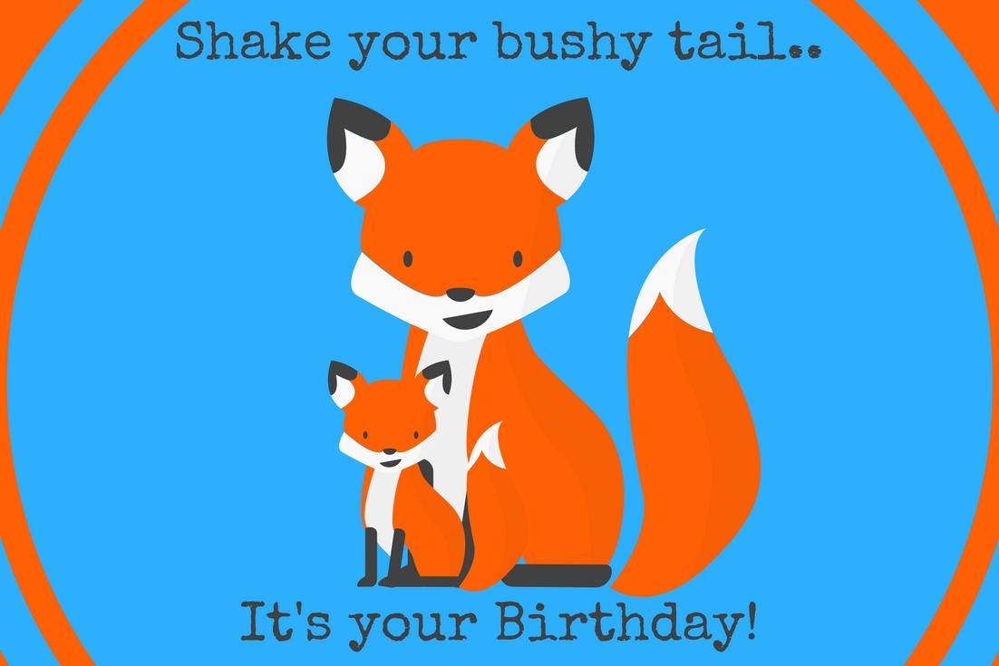 Fox Birthday Party Free Printables