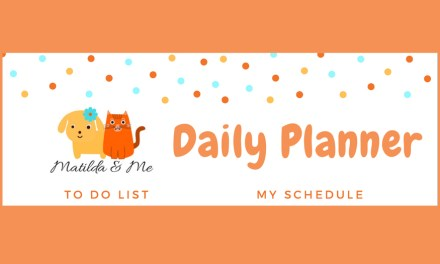 Free Printable- Matilda and Me Daily Planner