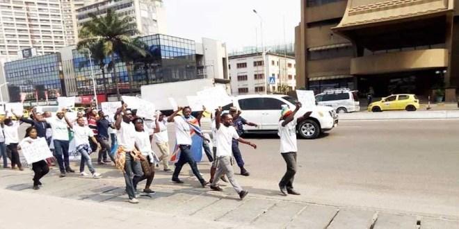 Marche Lucha - Kinshasa
