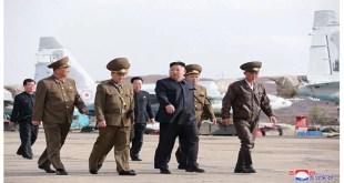A l'Unité № 1017 des Forces Aériennes et Antiaériennes de l'Armée Populaire de Corée (APC)