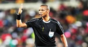 l'arbitre zambien, Janny Sikazwe