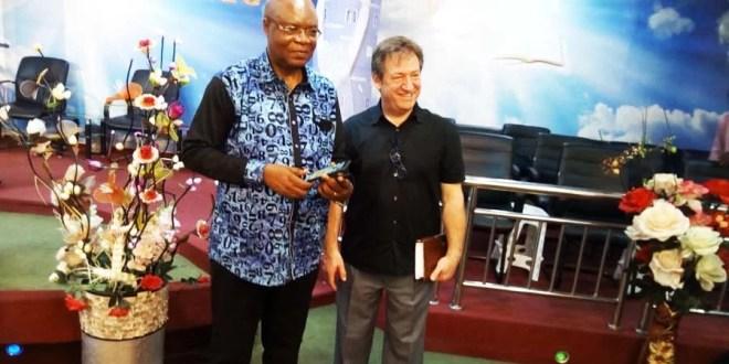 Flory Kabange Numbi et Pasteur Michel Marvane