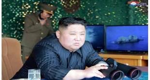 KIM JONG UN- Exercices de frappe sur la Mer de l'Est de Corée