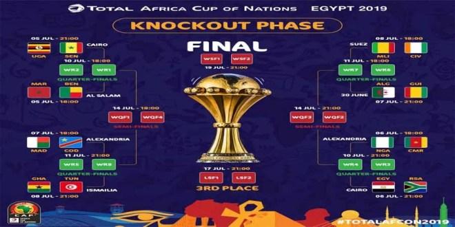 can Egypte 2019 8e de finale