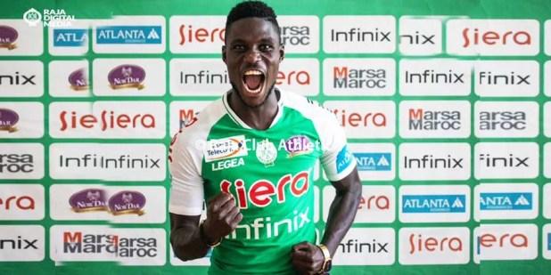 Ben Malango paraphe un contrat de 3 ans au Raja de Casablanca