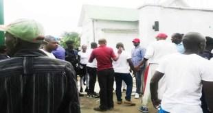 Le premier secrétaire de l'ambassade du Nigéria récupère sa résidence - La une