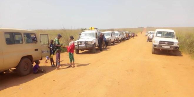 13. 400 expulsés d'Angola retournent en RDC grâce à l'OIM et ses partenaires