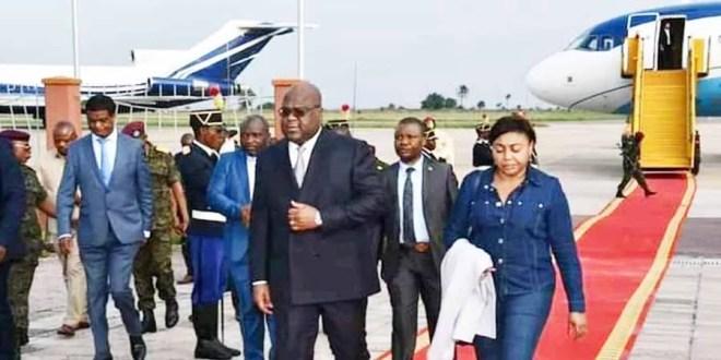 Tshisekedi à Kinshasa