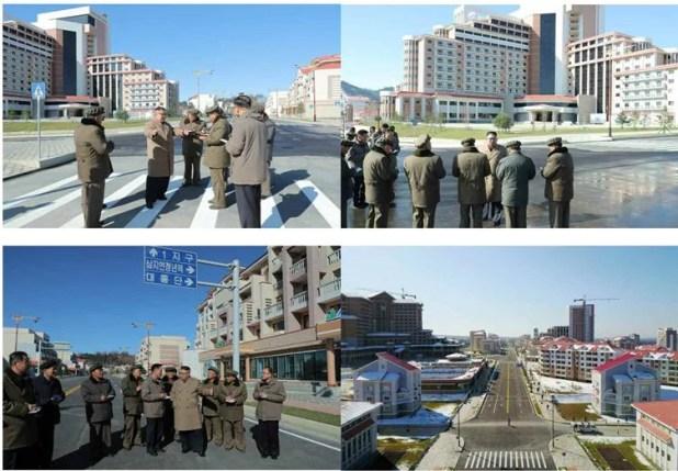 chantiers de construction de l'Arrondissement Samji-yon 1