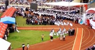 Une forte mobilisation autour du nouveau cardinal, son Eminence, Fridolin Ambongo Besungu, qui se fait appeler le Grand Conseiller de la République-