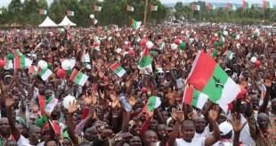 Burundi - campagne éléctorale