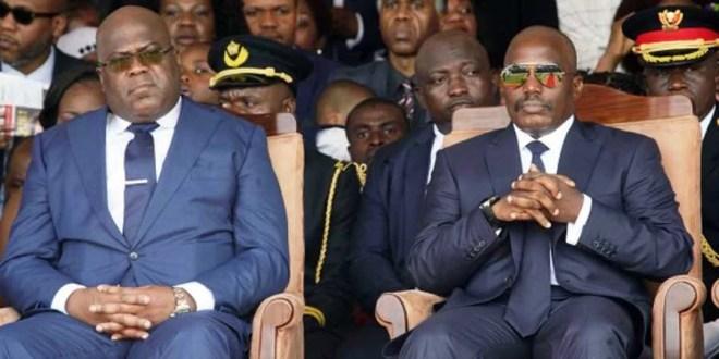 Kabila et Tshisekedi