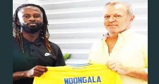 Dieumerci Ndongala à Apoël Nicosie ( Chypre) pour trois saisons