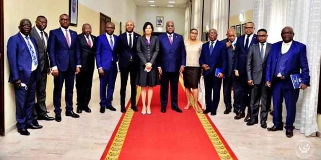 RDC : Réformes Électorales, le groupe de 13 personnalités politiques chez Fatshi