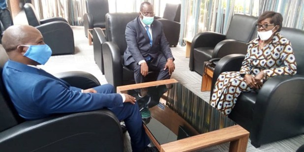 RDC : La patronne de la diplomatie congolaise est arrivée au Burundi