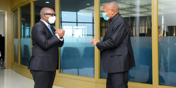 Mgr Ambongo et Pm Sama Lukonde Kyenge
