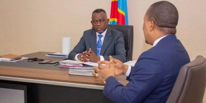 Daniel Aselo a échangé avec le DG du CEEC, Pascal Nyembo