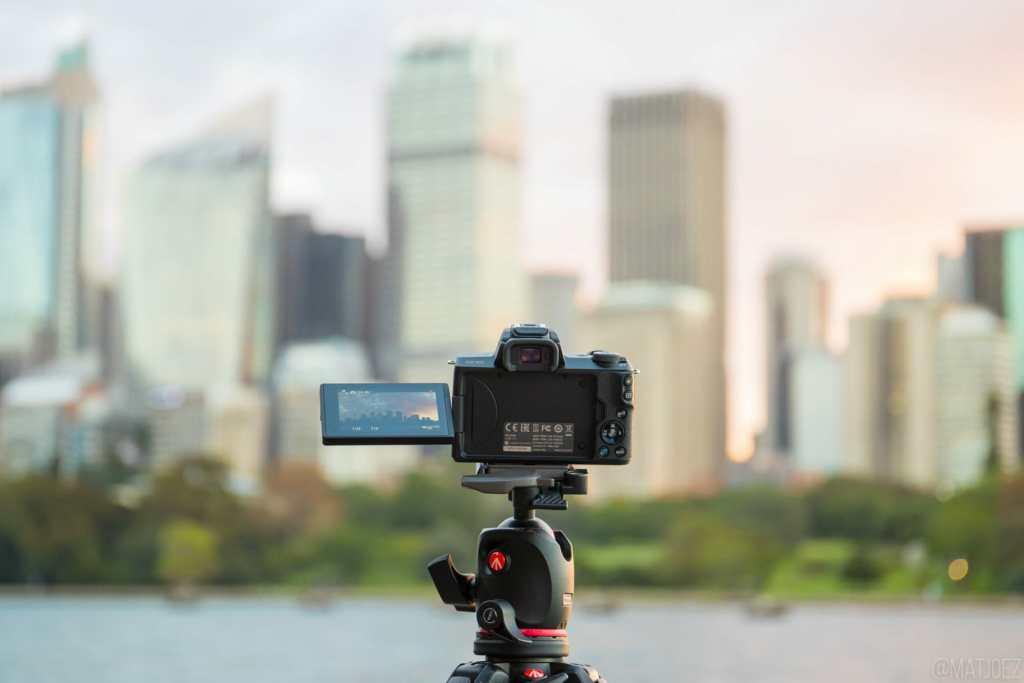 Canon EOS M50 as a timelapse camera | Matthew Vandeputte