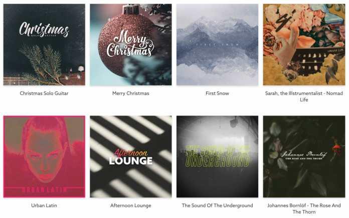 Epidemic Sound seasonal music