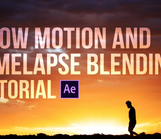 Slow motion and timelapse blending tutorial