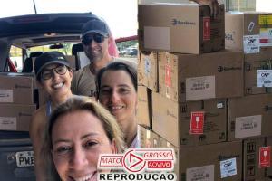 Veterinária de SC chega a Brumadinho com 300 kg de remédios doados 64