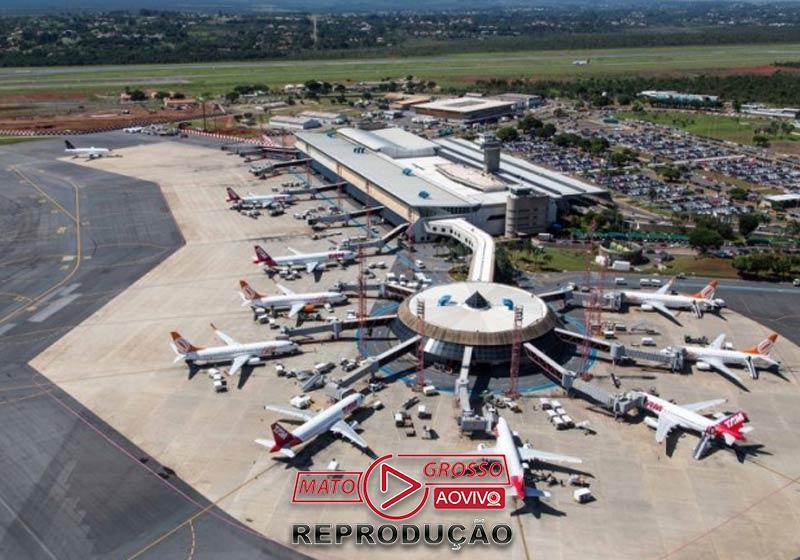 Aeroporto de Brasília - Foto: divulgação