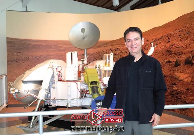 O físico Ivan Gontijo: do campo para Marte Foto: Arquivo Pessoal